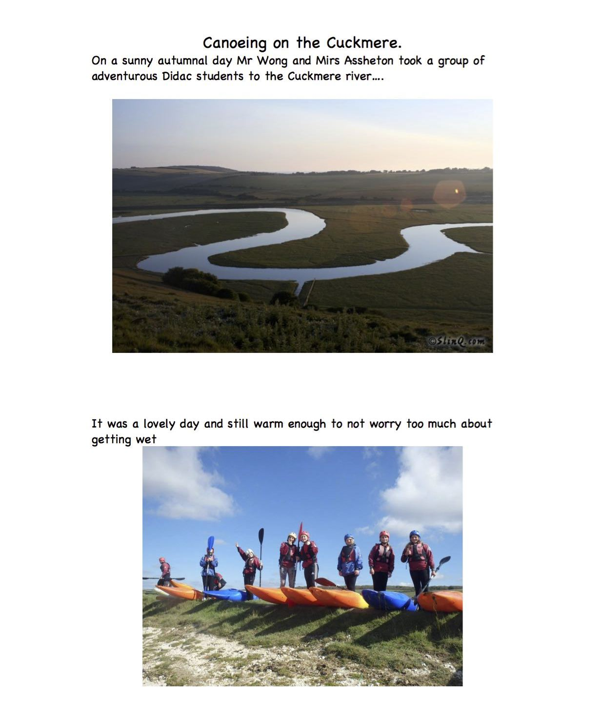 Canoeing on the Cuckmere1