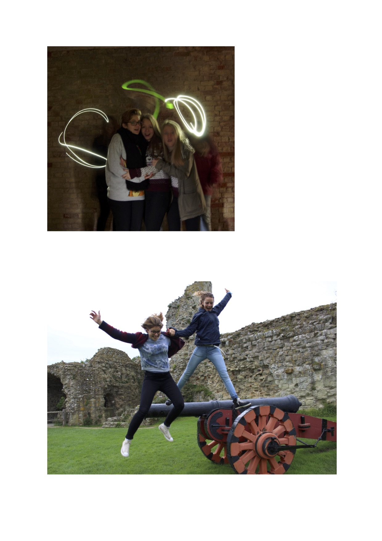 Ghosts at Pevensey Castle2