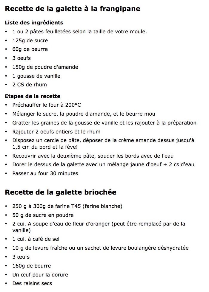 L'épiphanie-2- recettes galettes