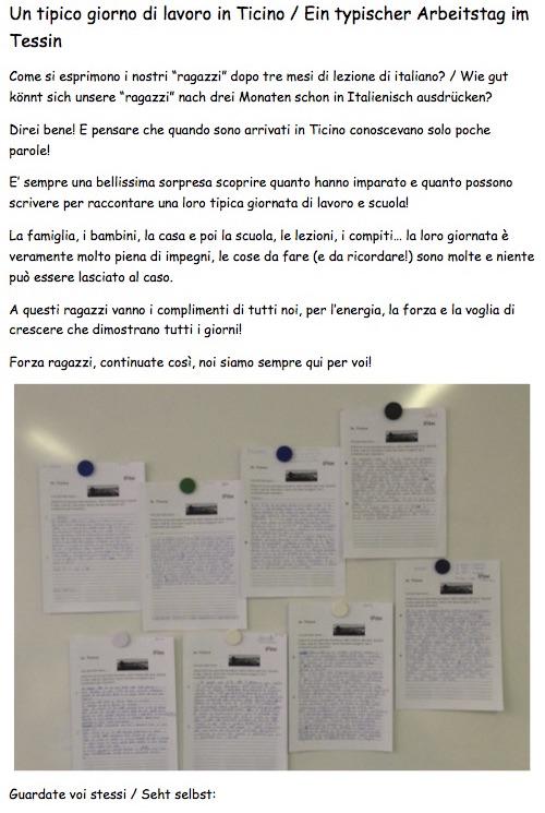Projekt - giornata in Ticino1