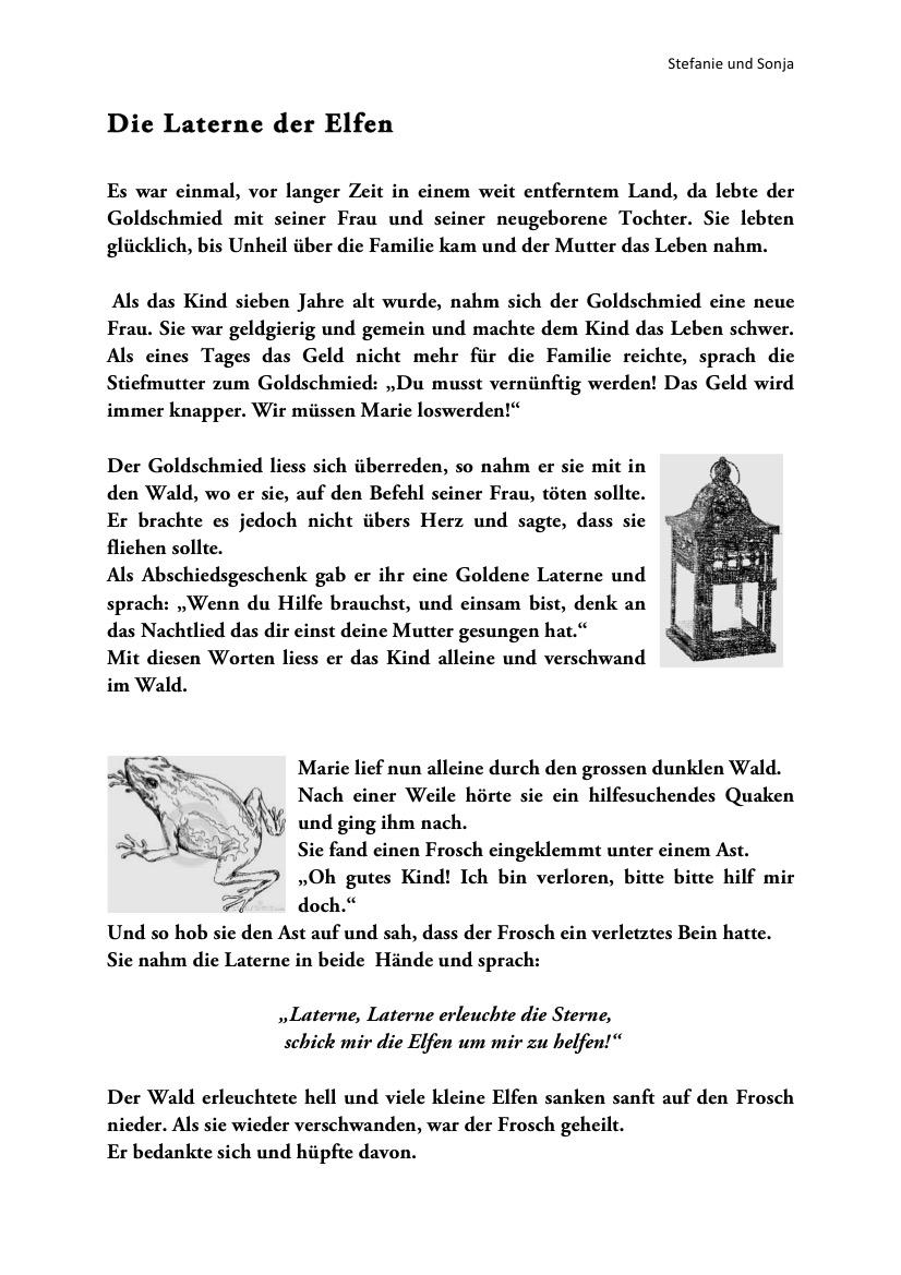 Die Laterne der Elfen Märchen Deutsch_001