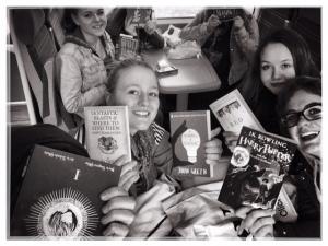 Book Club Treasure Hunt Photo